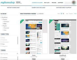 Onde encontrar temas grátis para WordPress