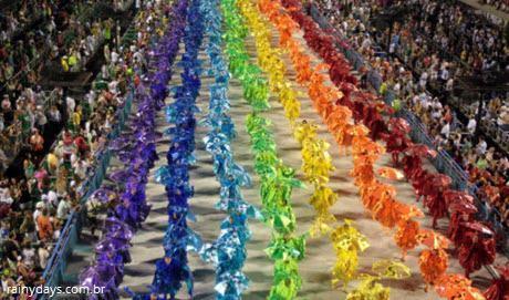 Ordem dos desfiles das escolas de samba do Rio de Janeiro
