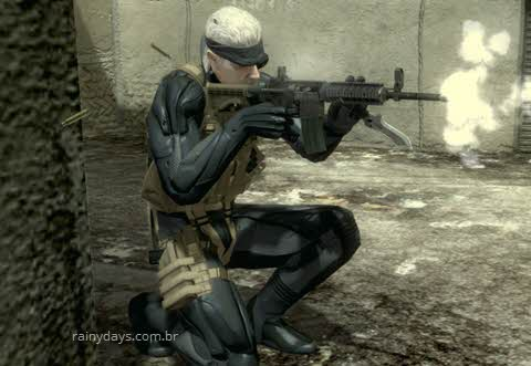 Códigos e senhas para Metal Gear Solid 4