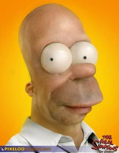 Homer dos Simpsons na vida real
