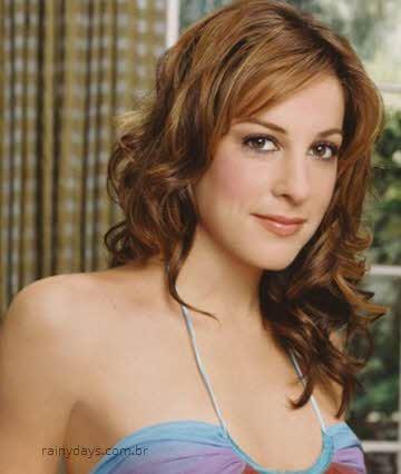 Lindsay Sloane mulheres bonitas que apareceram em Entourage