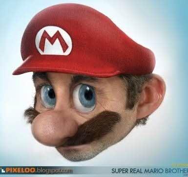 Super Mario se fosse real