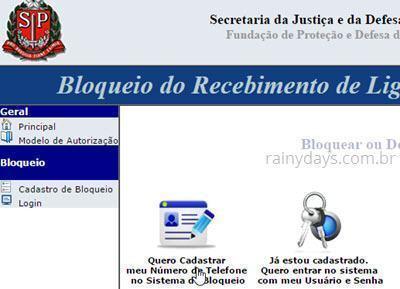 Bloquear telefone para ligações de telemarketing São Paulo 2