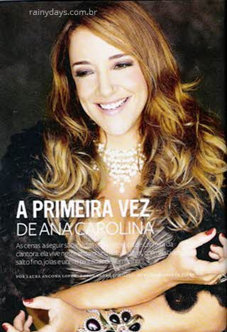 Ana Carolina na Joyce Pascowitch