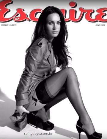 Sessão de fotos Megan Fox na Esquire