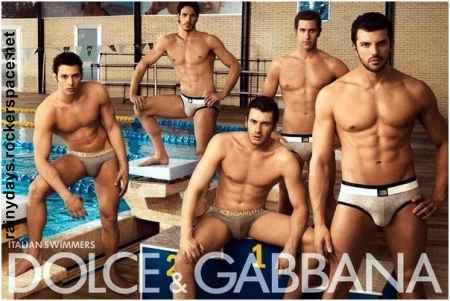 Nadadores italianos de cueca Dolce & Gabbana