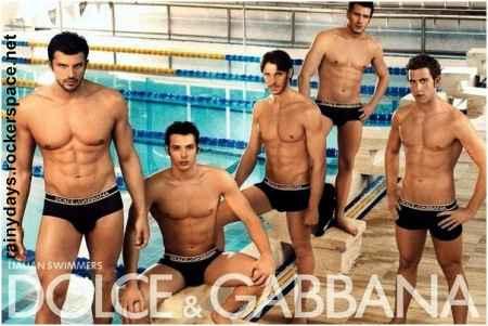 nadadores italianos gostosos Dolce & Gabbana