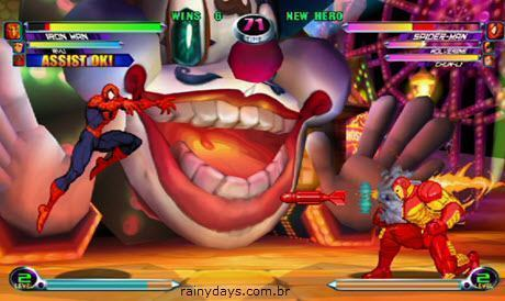 Dicas Marvel vs Capcom 2 New Age of Heroes