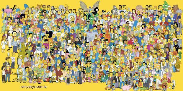 Poster dos Simpsons 20ª Temporada