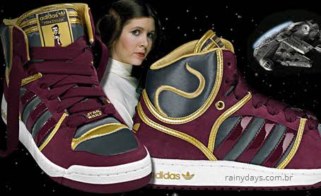 Tênis Star Wars da Adidas Princesa Leia