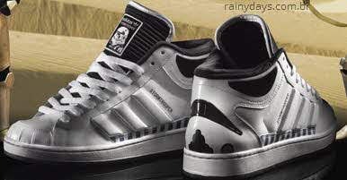 Tênis Star Wars da Adidas Stormtrooper