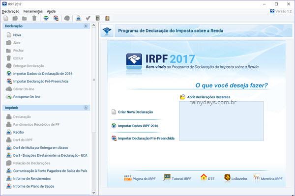 Download IRPF baixar programa Declaração Imposto sobre Renda