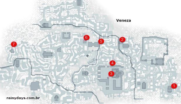 Mapas do game Assassin's Creed II (5)