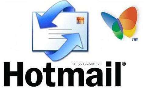 Como excluir conta do Hotmail