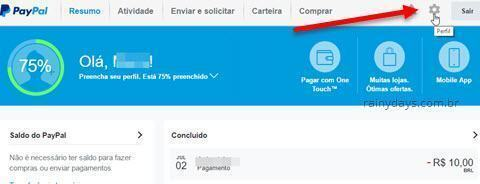Como excluir conta do PayPal 1