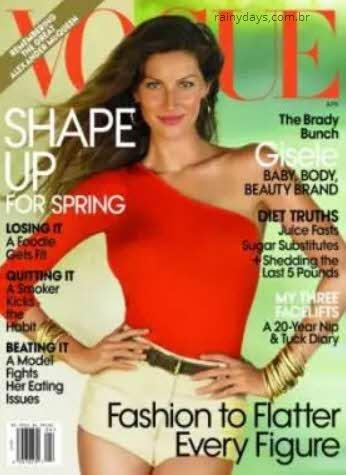 Gisele Bundchen na Vogue 2010
