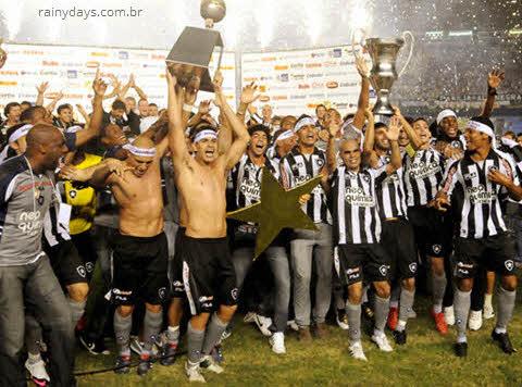 Botafogo campeão Carioca 2010, fotos, vídeo
