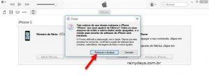 Desbloquear iPhone e iPod se esqueceu senha (Passcode)