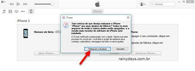 Desbloquear iPhone e iPod se esqueceu senha