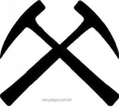 símbolo da Geologia