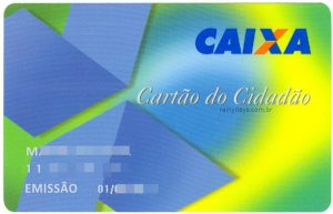 Cartão Cidadão da Caixa pela internet, 2 via, senha