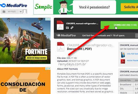 Como fazer download no MediaFire