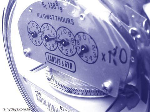 Teste para verificar fuga de energia em casa