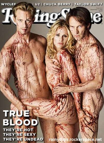 Sookie Bill Eric True Blood Rolling Stone