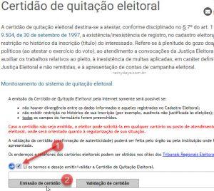 Como tirar Certidão de Quitação Eleitoral do TSE pela internet