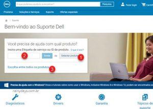 Download de drivers da Dell (Notebook, PC)