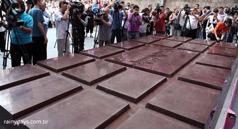 Maior Barra de Chocolate do Mundo