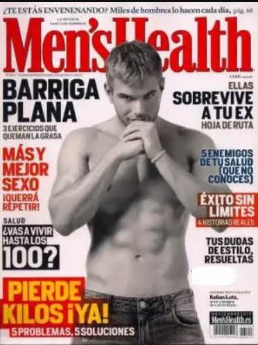 Kellan Lutz gostoso na Men's Health da Espanha