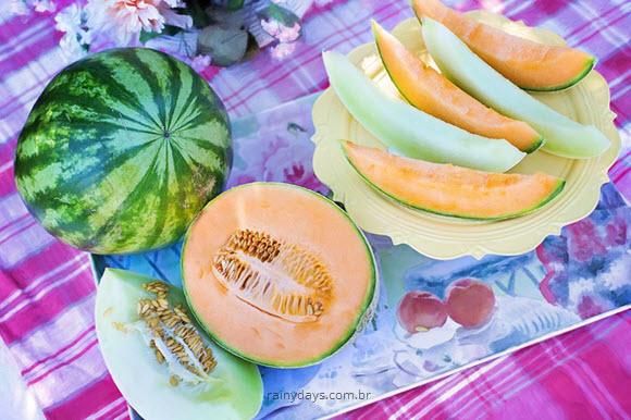 Como reaproveitar a casca do melão