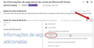 Como imprimir mensagem individual no Gmail