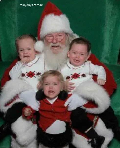 Papai Noel o terror das crianças