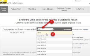 Assistência técnica da Nikon no Brasil