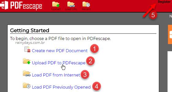 editar arquivo pdf online