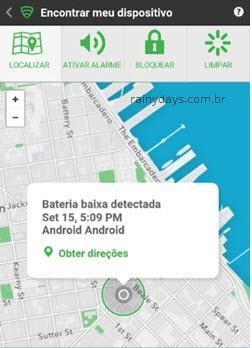 Lookout Mobile Security localizar ANdroid