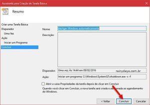 Programar Windows para desligar sozinho (Sem Programa)