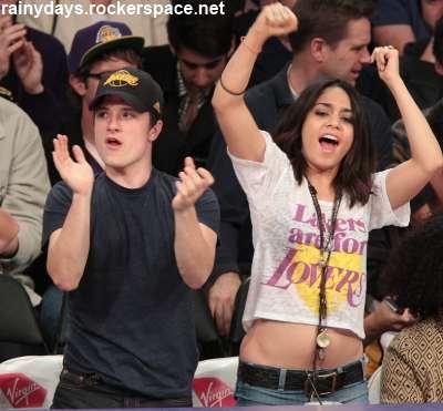 Vanessa Hudgens namorando Josh Hutcherson