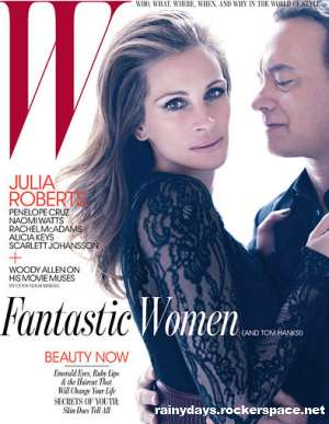 Julia Roberts e Tom Hanks capa da W