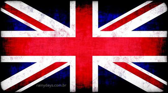 História da bandeira do Reino Unido Union Jack Flag