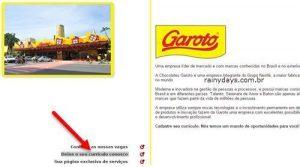 Como trabalhar na Garoto (Enviar Currículo)