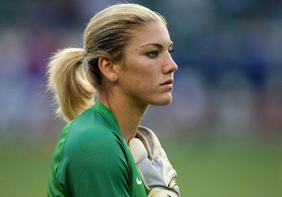 Fotos da Hope Solo, goleira da seleção americana