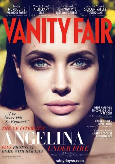 Angelina Jolie Fala Sobre o Casamento Secreto na Vanity Fair