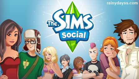 The Sims Social jogo The Sims do Facebook