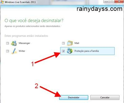 Como Desinstalar Programas do Windows Live Essential