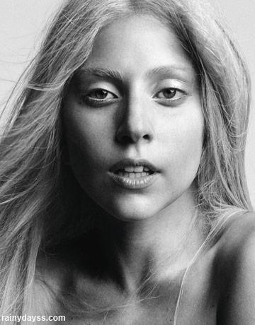 Lady Gaga Sem Maquiagem na Harper's Bazaar 3