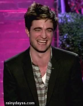 Expressões esquisitas Pattinson