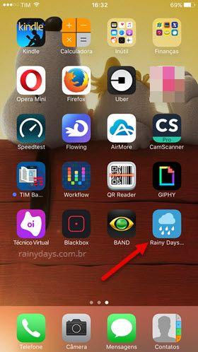 Como adicionar atalho de páginas na tela inicial do iPhone